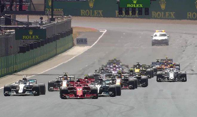 """Đua xe F1, British GP: """"Nhà vua"""" gục ngã, """"Ngựa chiến"""" hí vang - 1"""