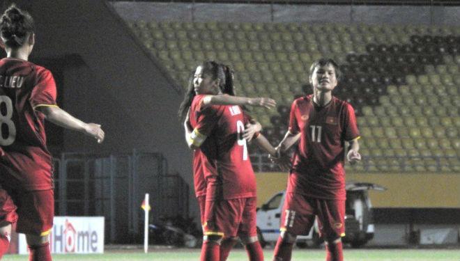Nữ Việt Nam - Myanmar: Phủ đầu choáng váng, rượt đuổi 7 bàn kịch tính - 1