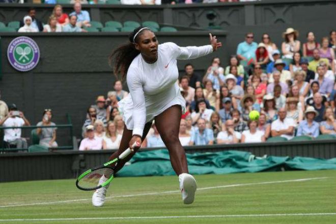 Serena Williams - Rodina: Sức mạnh vũ bão, 2 set như 1 (Vòng 4 Wimbledon) - 1