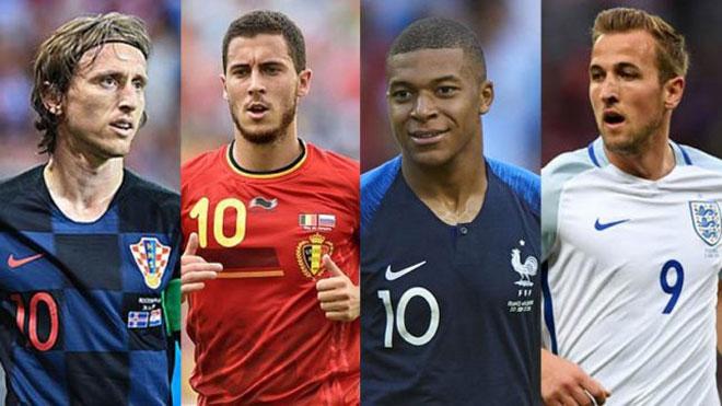 Bán kết World Cup 2018: Châu Âu độc bá, Ngoại hạng Anh là số 1 - 1