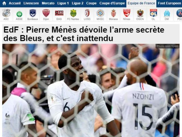 """Bán kết World Cup: Báo chí khen Pháp biến ảo như """"tắc kè hoa"""", Bỉ đầy điểm yếu"""