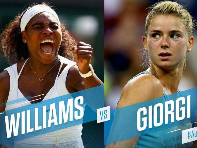 """Cập nhật Wimbledon ngày 8: Serena hừng hực, hot girl thành """"mồi ngon""""?"""