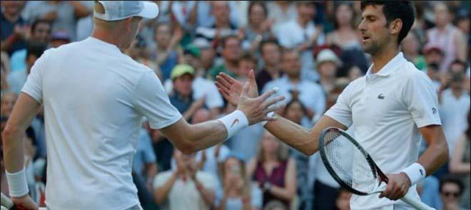 Djokovic - Khachanov: Bẻ game thần tốc, chiến quả ngọt ngào (vòng 4 Wimbledon) - 1