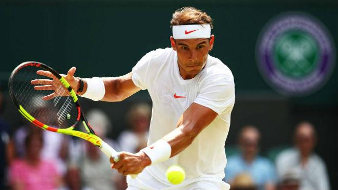 """Nadal - Vesely: Ngổ ngáo đấu """"Bò tót"""" rực lửa (Vòng 4 Wimbledon) - 1"""