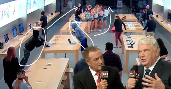 SỐC: Cướp 26 chiếc iPhone và iPad chỉ trong… 33 giây - 1
