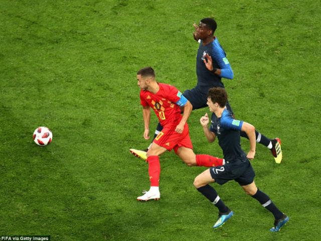 """Góc chiến thuật Pháp – Bỉ: """"Quỷ đỏ"""" sập bẫy, xa luân chiến Hazard"""
