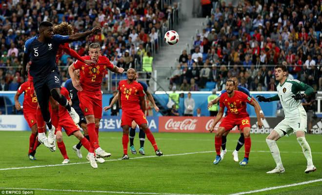 """Góc chiến thuật Pháp – Bỉ: """"Quỷ đỏ"""" sập bẫy, xa luân chiến Hazard - 1"""