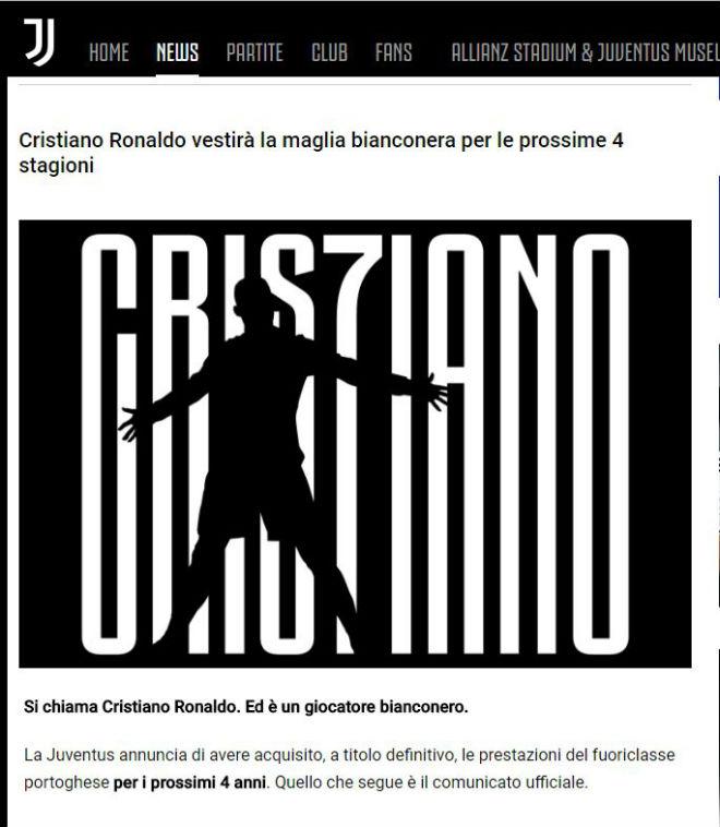 Ronaldo bỏ Real đến Juventus: Thế giới rúng động, báo chí lo canh bạc mạo hiểm - 1