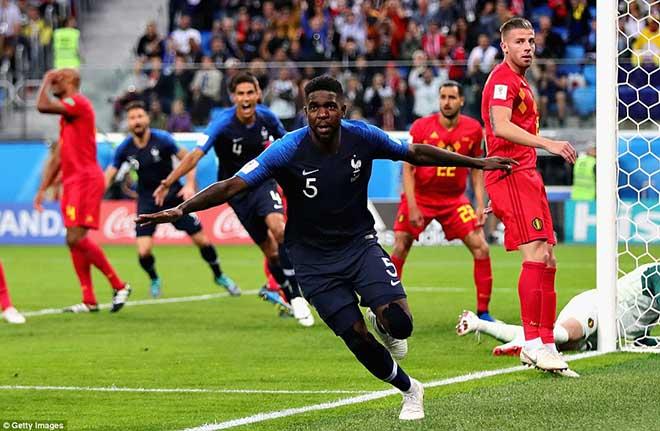 """Ấn tượng World Cup 11/7: Lukaku hóa """"chân gỗ"""", mỹ nữ cạn lệ khóc tuyển Bỉ - 1"""