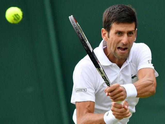 """Video, kết quả tennis Djokovic - Nishikori: """"Mưa"""" break tới tấp, 4 set hạ màn (Tứ kết Wimbledon)"""