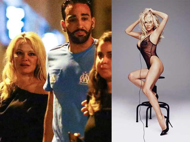 Người mẫu 50 tuổi vẫn khiến trung vệ Adil Rami say đắm