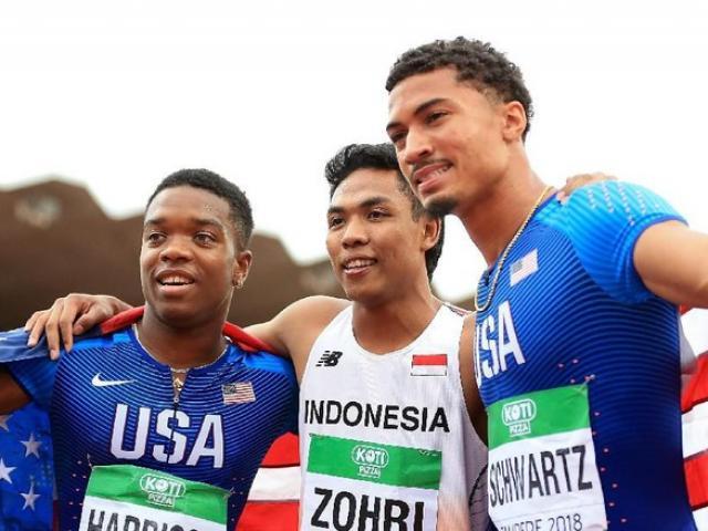Sững sờ cả châu Á: VĐV Indonesia giật tấm HCV thế giới chạy 100m