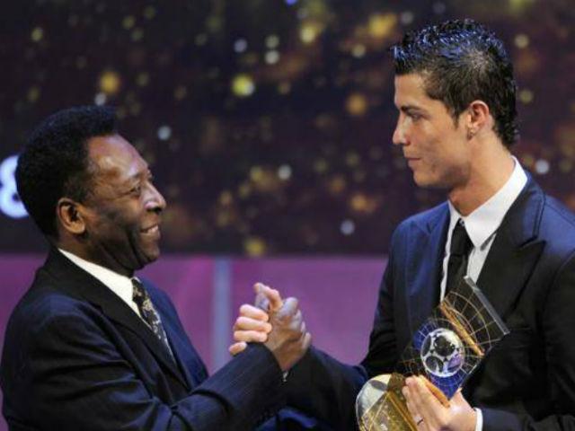 """Bóng đá - Ronaldo bỏ Real đến Juventus: Vua Pele """"ám quẻ"""", triệu fan tái mặt"""