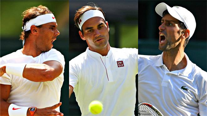 """Clip hot Wimbeldon: Federer - Nadal - Djokovic làm """"nạn nhân"""" 3 siêu phẩm - 1"""