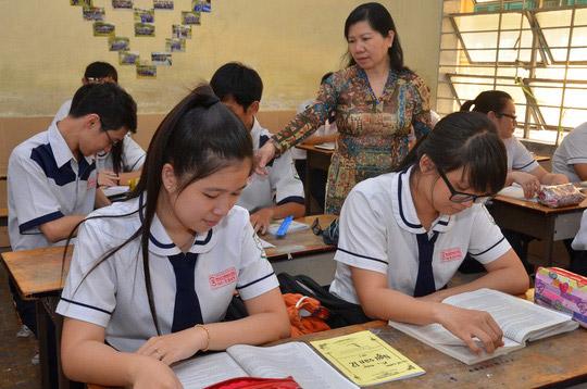 Hàng loạt trường ĐH công bố điểm sàn xét tuyển - 1