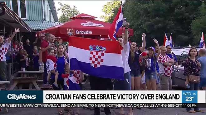 Lập kỳ tích vào chung kết World Cup: Triệu fan Croatia phát cuồng - 1
