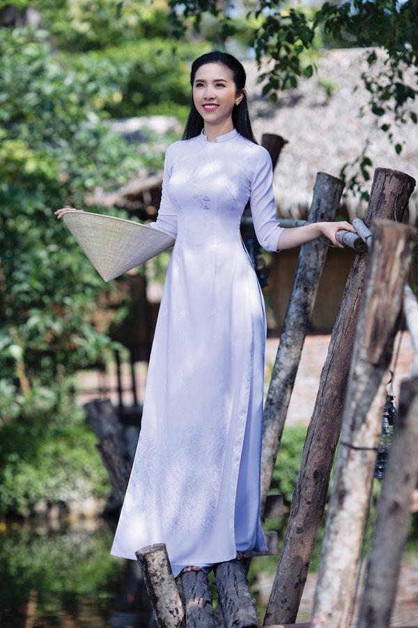 Thai Tuấn ưu đai Len đến 20 Cho Vải Ao Dai Nữ Sinh Lencii 974511