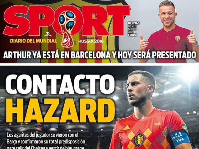 Real thiệt to: Vừa mất Ronaldo, lại vỡ mộng Hazard vì Barca