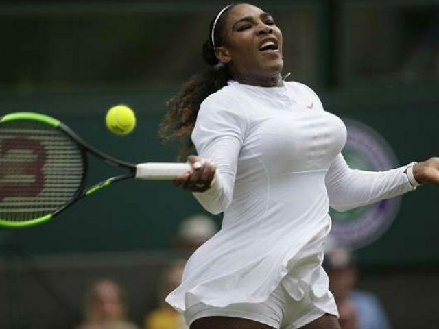 Serena - Goerges: 1 game xuất thần, sụp đổ cả trận (Bán kết Wimbledon)