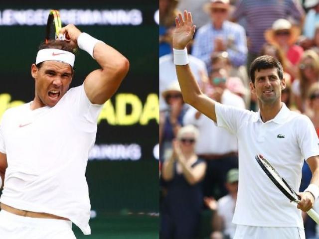 Bán kết Wimbledon ngày 11: Siêu đại chiến Nadal – Djokovic, lịch sử sang trang