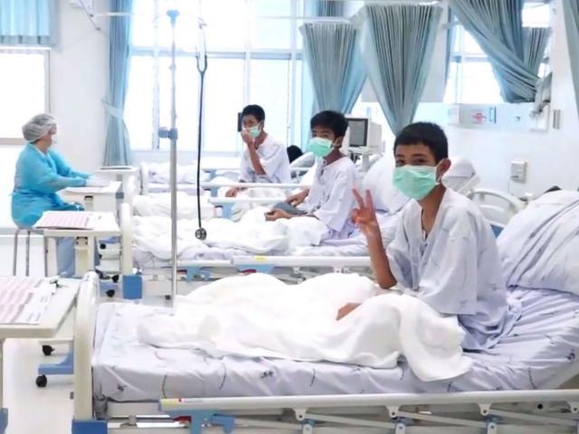 Vụ giải cứu đội bóng Thái Lan: Công bố kết quả xét nghiệm máu