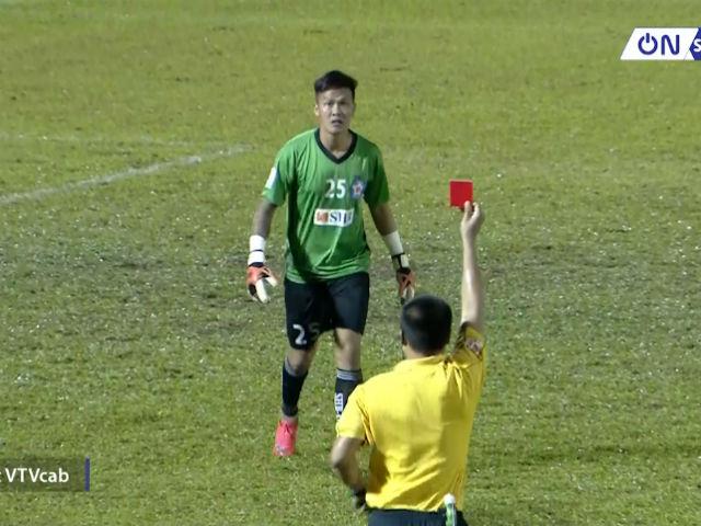 TP.HCM - Đà Nẵng: Thẻ đỏ thủ môn, ngược dòng 6 bàn