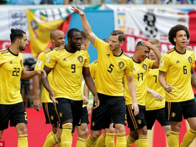 Bùng nổ World Cup: Lukaku châm ngòi, Bỉ xé nát hàng thủ Anh
