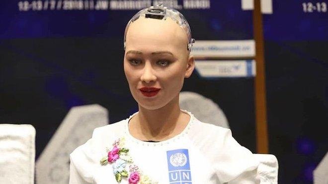 Google: Người Việt đổ xô tìm hiểu về robot Sophia trong thứ 6 ngày 13 - 1