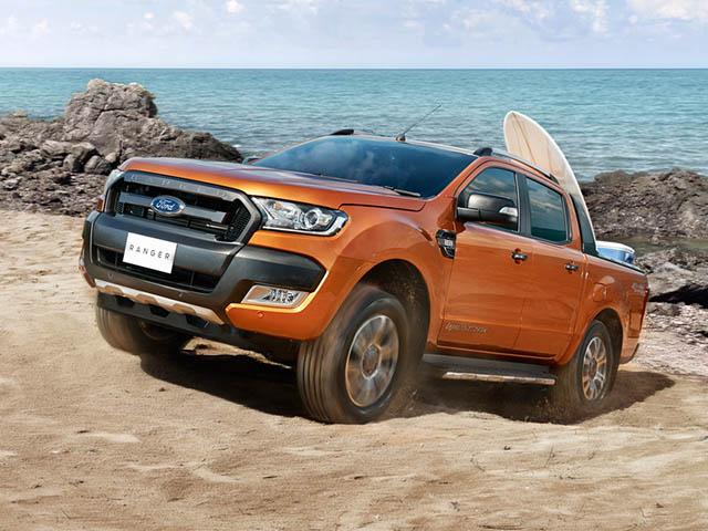 Bảng giá xe Ford Ranger cập nhật mới nhất