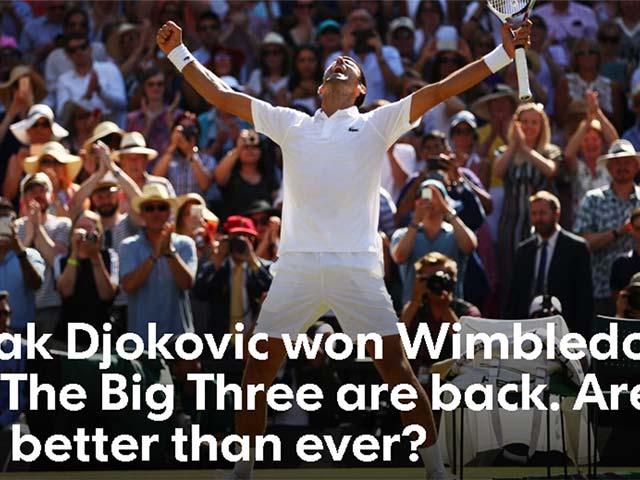 Djokovic vô địch Wimbledon: Big Three trở lại, báo chí cảnh báo Federer & Nadal
