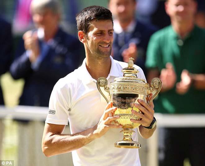 """Vô địch Wimbledon 2018: Djokovic lớn tiếng dọa Federer - Nadal, tin vào """"phép màu"""" - 1"""