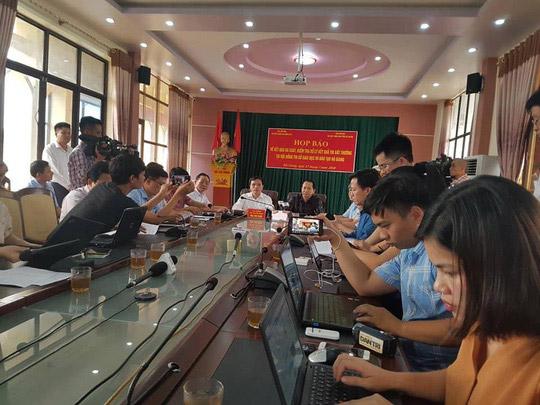 Có  gần 120 thí sinh ở Hà Giang được nâng điểm bài thi trắc nghiệm - 1