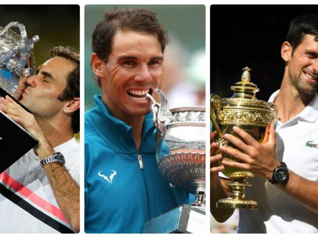 """Federer-Nadal-Djokovic """"chia ba giang sơn"""": US Open tam anh tranh hùng"""