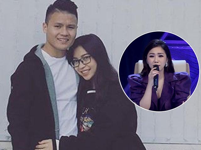 Bạn gái Quang Hải U23 khóc nức nở vì bị Hương Tràm chê bai