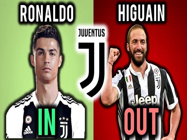 """Siêu bom tấn"" Ronaldo: Higuain cả một đời ""đóng thế"", uất hận rời Juventus"