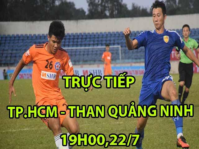 TRỰC TIẾP TP.HCM - Than Quảng Ninh: Tấn công dồn dập, may mắn mỉm cười