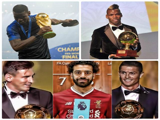 Quả bóng Vàng 2018: Deschamps loại sốc Mbappe, chọn Pogba đấu Ronaldo