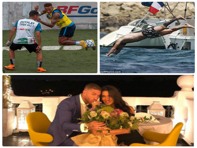 "SAO ""giải sầu"" sau World Cup: Messi du hí đảo xa, Neymar đi đá phủi"