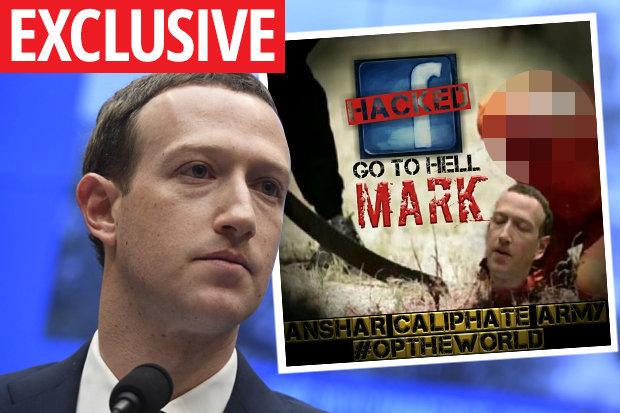 IS dọa chặt đầu ông chủ Facebook Mark Zuckerberg - 1