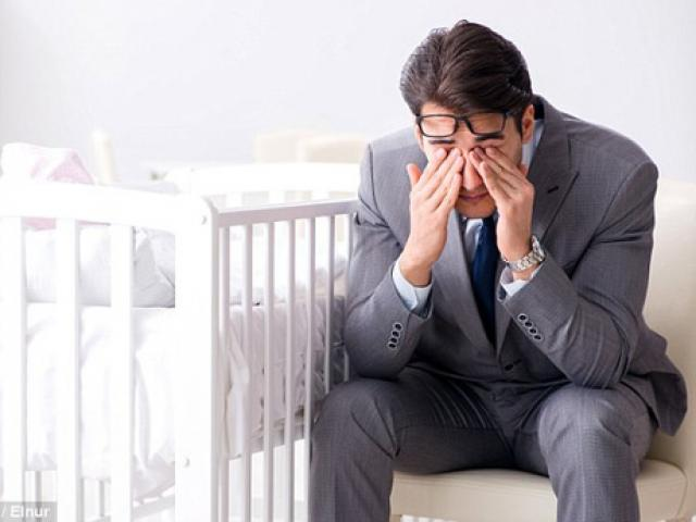 Rất nhiều đàn ông bị trầm cảm sau khi vợ sinh!