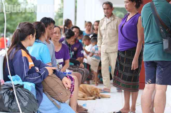 Chùm ảnh 2.800 người bị ảnh hưởng vỡ đập ở Lào sống ra sao? - 1