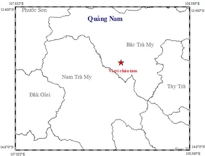 """Điểm mặt """"thủ phạm"""" gây ra động đất liên tiếp ở Quảng Nam - 1"""