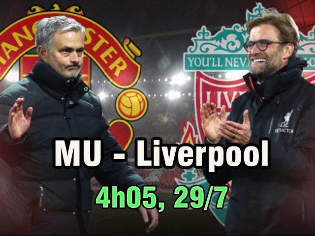 """MU – Liverpool: Thư hùng rực lửa, chờ 2 """"bom tấn"""" xuất trận"""