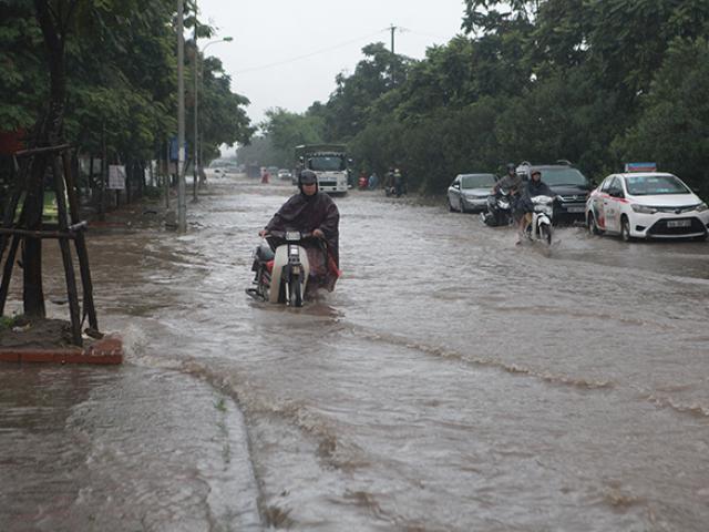 Đợt mưa lớn diện rộng ở Bắc Bộ kéo dài đến khi nào?