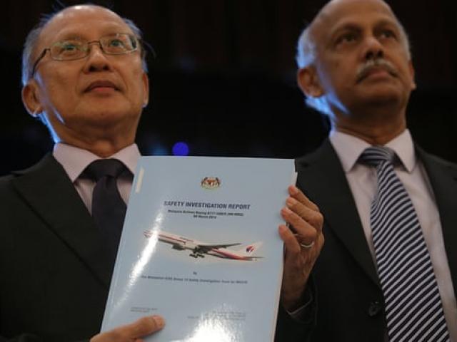 Chính thức: Máy bay MH370 đi chệch hướng do có người điều khiển