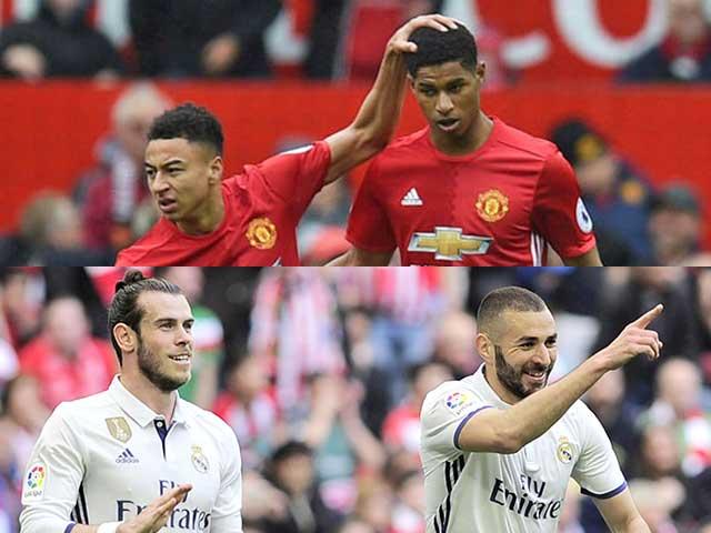 MU đấu Real ICC Cup: Rashford & Lingard hội quân chọi Bale & Benzema