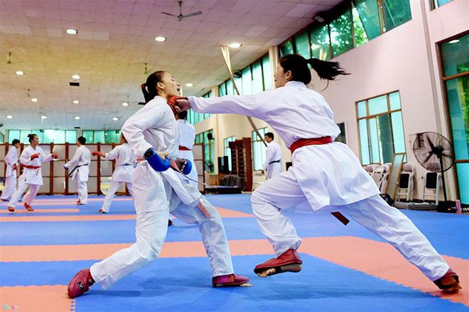 Đội tuyển Karatedo chuẩn bị cho ASIAD 2018:  Bước đệm cho Olympic 2020 - 1