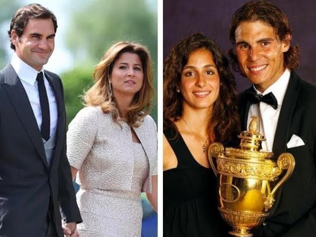 """Ngã ngửa tennis: Federer lấy """"vợ người ta"""", Nadal """"nuôi"""" bạn gái 18 năm"""