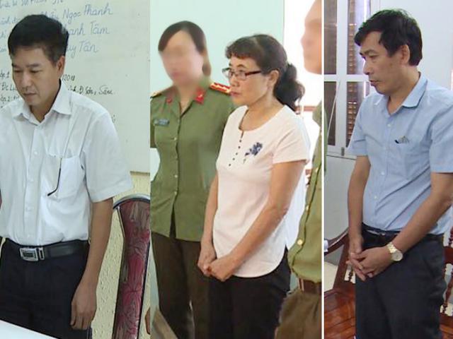Vụ gian lận điểm thi ở Sơn La: Khởi tố Phó giám đốc Sở và 4 cán bộ