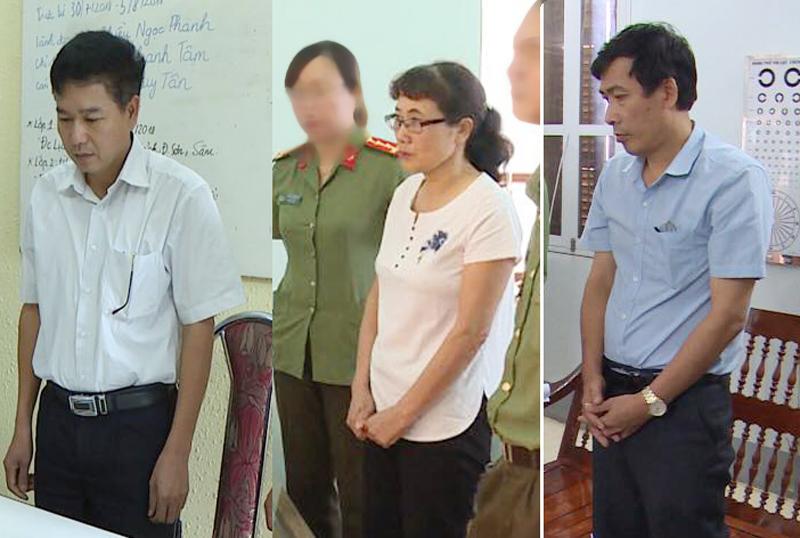 Vụ gian lận điểm thi ở Sơn La: Khởi tố Phó giám đốc Sở và 4 cán bộ - 1